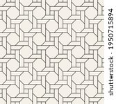 vector seamless lattice pattern.... | Shutterstock .eps vector #1950715894
