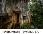 Abandoned  Destoyed Concrete...