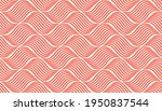 the geometric pattern with wavy ... | Shutterstock .eps vector #1950837544