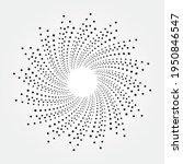 circle halftone spiral...   Shutterstock .eps vector #1950846547