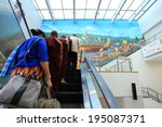 yangon  myanmar   april 8 2014  ... | Shutterstock . vector #195087371