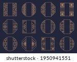 vector set of oriental art for... | Shutterstock .eps vector #1950941551