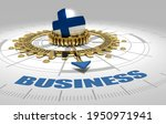 global business and economic 3d ...   Shutterstock . vector #1950971941