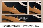 ramadan kareem modern luxury...   Shutterstock .eps vector #1950998167