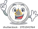 old kitchen timer caricature...   Shutterstock .eps vector #1951041964