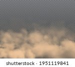dust clouds of sand  smoke and...   Shutterstock .eps vector #1951119841