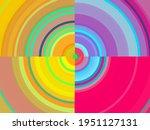 Colorful Fractal  3d Rendering  ...