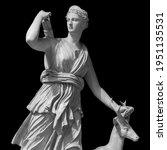 Ancient sculpture diana artemis....