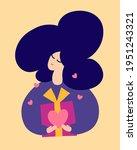 "love language ""presents"". happy ... | Shutterstock .eps vector #1951243321"
