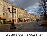 old part of lviv  ukraine   Shutterstock . vector #19513942