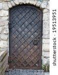 old church  door   Shutterstock . vector #19513951