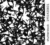 seamless black and white... | Shutterstock .eps vector #1951420831