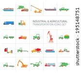 vector industrial and... | Shutterstock .eps vector #195148751