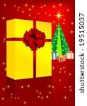 illustration of a christmas... | Shutterstock .eps vector #19515037