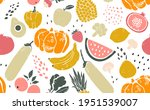 seamless creative pattern with...   Shutterstock .eps vector #1951539007