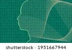 man avatar profile view....   Shutterstock .eps vector #1951667944