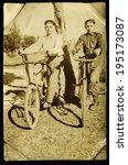 ussr   circa 1970s  antique... | Shutterstock . vector #195173087
