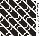 vector seamless wavy rounded...   Shutterstock .eps vector #1951739074