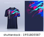 fabric textile for sport t... | Shutterstock .eps vector #1951805587