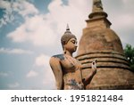 Buddha Statues In Thailand By...