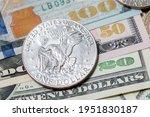 Eisenhower Dollar On Usd...