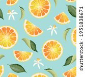 vector seamless pattern with...   Shutterstock .eps vector #1951838671