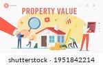 real property value  assessment ... | Shutterstock .eps vector #1951842214