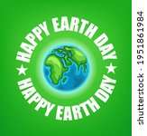 happy earth day 22 of april... | Shutterstock .eps vector #1951861984