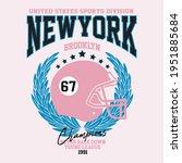 newyork college typography for...   Shutterstock .eps vector #1951885684