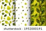 three minimalistic geometric... | Shutterstock .eps vector #1952000191