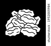 raisins dark mode glyph icon....   Shutterstock .eps vector #1952005984