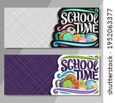 banners for school with copy... | Shutterstock . vector #1952063377