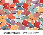 illustration background or... | Shutterstock .eps vector #1952118994