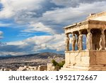 Porch Of The Caryatids At...