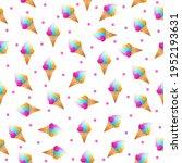 seamless pattern abstract... | Shutterstock .eps vector #1952193631