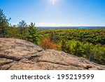 A High View Over A Cliff Of...