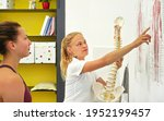 young woman patient at... | Shutterstock . vector #1952199457