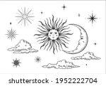 vector set for astrology ...   Shutterstock .eps vector #1952222704