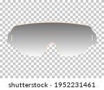 realistic sunglasses in beige... | Shutterstock .eps vector #1952231461