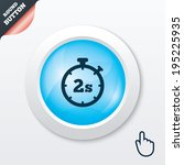 timer 2 seconds sign icon....