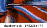 Silk Fabric. Colors  Blue ...