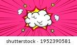 Blank Boom Speech Bubble Comic...
