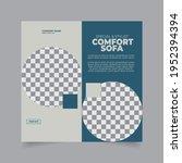 furniture social media post... | Shutterstock .eps vector #1952394394