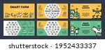 vector smart farm icon... | Shutterstock .eps vector #1952433337