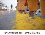 jan 26  monks from wat phra... | Shutterstock . vector #195246761