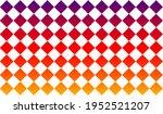 Multicolored Checkered Seamless ...