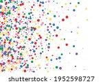 Blue Dot Paint Background....