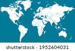 world map. color vector modern. ... | Shutterstock .eps vector #1952604031