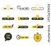 top tips  helpful tricks ... | Shutterstock .eps vector #1952630434