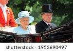 Small photo of Prince Philip and Queen Elizabeth, London June 2017- Trooping the Colour parade Prince Philip and Queen for Queen Elizabeth s Birthday, June 17, 2017 London, England, UK